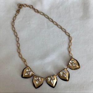 JCrew Gold & Tortoise Shell Necklace